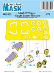 1-72-Mask-for-SAAB-37-Viggen-Single-Seater