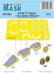 1-72-Mask-for-SAAB-37-Viggen-Two-Seater