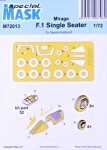 1-72-Mask-for-Mirage-F-1-Single-Seater-SP-HOBBY
