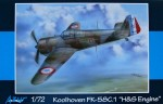 1-72-Koolhoven-FK-58C-1-H-and-S-Engine