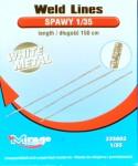 1-35-Weld-Lines-white-metal-length-150-cm-imitace-svaru