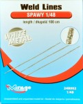 1-48-Weld-Lines-white-metal-length-100-cm-imitace-svaru