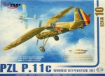 1-48-PZL-P-11c-RUMANIAN-AIR-FORCE-with-PE-set