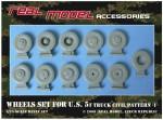 1-35-Wheel-set-for-U-S-5t-truck-civil-pattern-1