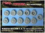 1-35-Wheel-set-for-U-S-5t-truck-civil-pattern-2