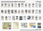 RARE-1-72-Iraq-War-Daily-Prints-and-Maps