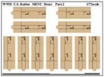 1-72-WWII-U-S-Ration-MENU-Boxes-Part-2