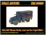 1-35-Kfz-305-House-Body-for-Opel-Blitz
