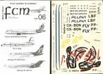 1-144-Airbus-A320-BRITISH-AIRWAYS-G-MEDA-World-scheme-Whale-Rider-Boeing-727-200-FLY-PP-LBF-Boeing-727-200