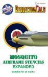 1-24-Havilland-Mosquito-NF-II-FB-Mk-VI-Airframe-Stencils