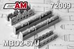 1-72-MBD2-67U-Multiple-bomb-racks-2-pcs-