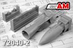 1-72-IAB-500-nuclear-training-bomb-w-BD3-56-rack