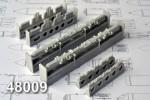1-48-MBD2-67U-Multiple-bomb-racks-set-contains-two-bomb-racks-and-four-100-kg-SAB-100MN-bombs