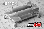 1-48-Aerial-bombs-transport-cart-with-KAB-500S-500-kg