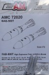 1-72-FAB-500T-HE-Fragmentation-Bomb-2-pcs-