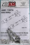 1-72-KAB-500Kr-500-kg-TV-guided-bomb-set-contains-two-bombs