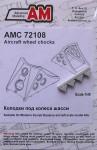 1-72-Aircraft-wheel-chocks-No-1-4-pcs-