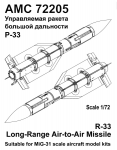 1-72-R-33E-Long-range-Air-to-Air-missile-set-contains-two-missiles