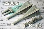 1-72-R-40RD-medium-range-Air-to-Air-missile-with-semi-active-radar-HH