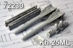 1-72-Kh-25ML-Short-range-Air-to-Surface-modular-missile-AS-10-Karenwith-laser-HH