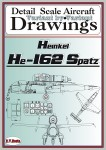 Drawings-for-He-162-SPATZ-1-32-48-72-REEDITION