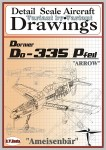 Drawings-for-Dornier-Do-335-PFEIL-1-72