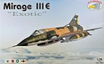1-72-Mirage-III-E-Exotic-5x-camo-versions