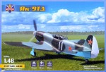 1-48-Yak-9TD-Soviet-fighter-WWII-3x-camo