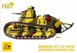 1-72-WWI-Renault-FT-17-with-Hotchkiss-machine