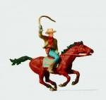 RARE-1-87-Cowboy-zu-Pferd