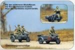 RARE-1-72-Kradschutzen-aufgesessen-Motorrad-Zundapp-KS-750
