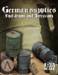 1-35-German-Supples-Fuel-drums-and-jerry-cans