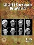 1-35-WWII-GERMAN-HEADS-SET