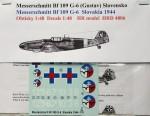 1-48-Bf-109-G-6-Slovakia-1944