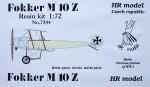 1-72-Fokker-M-10-Z