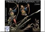 75mm-English-Longbowman-in-Azincourt