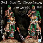 90mm-Guan-Yu-Chinese-General-Ca-210-aD