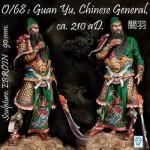 90mm-Guan-Yu-Chinese-General-Ca-210-aD
