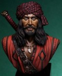 200mm-The-Pirate-BUST-Sandokan
