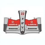 1-8-McLaren-MP4-23-Front-Nose-Decal