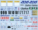 1-24-Works-Team-206-Factory-Backed-2000-Monte-Carlo-Decal-Set-for-Tamiya