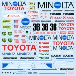 1-24-Minolta-87C-1987-LM-Test-Car-Decal-Set-for-Hasegawa
