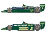 1-20-Martini-Type-79-1979-First-Half-T-Decal-Set-for-Tamiya