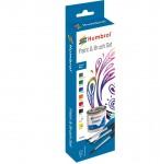 RARE-Humbrol-sada-emailovych-barev-a-stetcu-Gloss