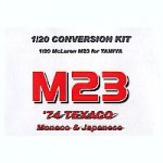1-20-Conversion-Kit-McLaren-M23-1974-Monaco-and-Japan-Demo-Run-for-Tamiya