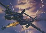 RARE-1-48-NORTHROP-P-61A-BLACK-WIDOW