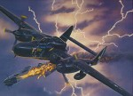 RARE-1-48-NORTHROP-P-61A-BLACK-WIDOW-SALE
