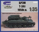 1-35-Soviet-Recovery-tank-T-34t-1958-Maquette