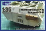 RARE-1-35-Rear-part-of-Armored-carrier-BTR-80-family-ZVEZDA-Dragon-SALE