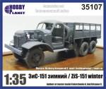 RARE-1-35-Soviet-track-ZiS-15-winter-w-tent-ZVEZDA-SALE
